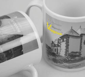 Mugs personnalisé, objet patrimoine le spécialiste de la personnalisation historique par l'objet